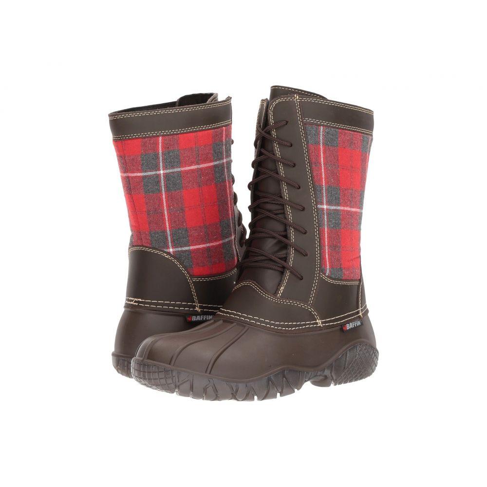 バフィン Baffin レディース シューズ・靴 ブーツ【St. Claire】Brown Plaid