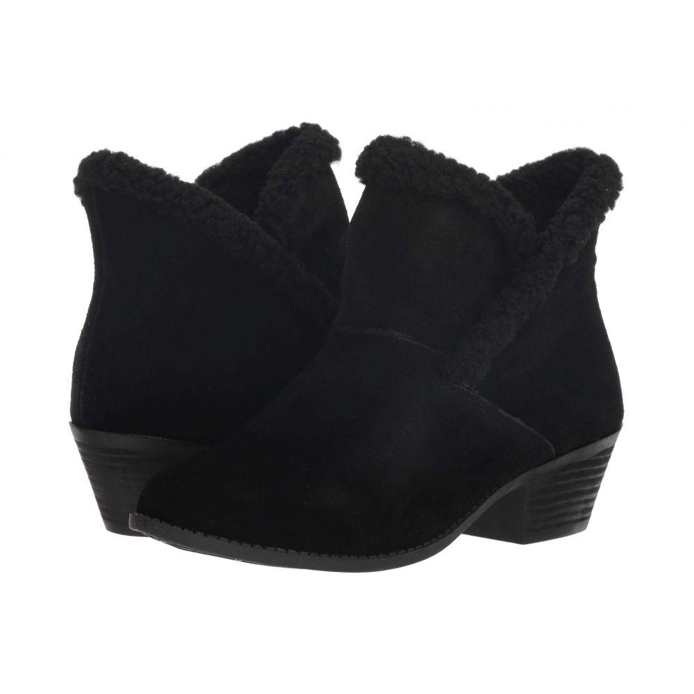 ミートゥー Me Too レディース シューズ・靴 ブーツ【Zanna】Black Oiled Suede/Shearling
