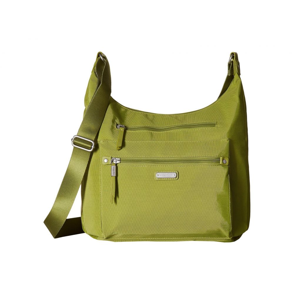 バッガリーニ Baggallini レディース スマホケース【New Classic Day Trip Hobo with RFID Phone Wristlet】Spring Green