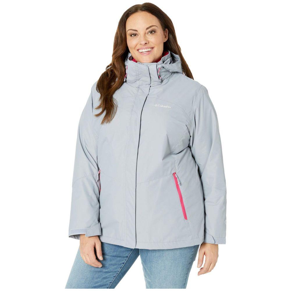 コロンビア Columbia レディース スキー・スノーボード アウター【Plus Size Bugaboo II Fleece Interchange Jacket】Astral/Cactus Pink