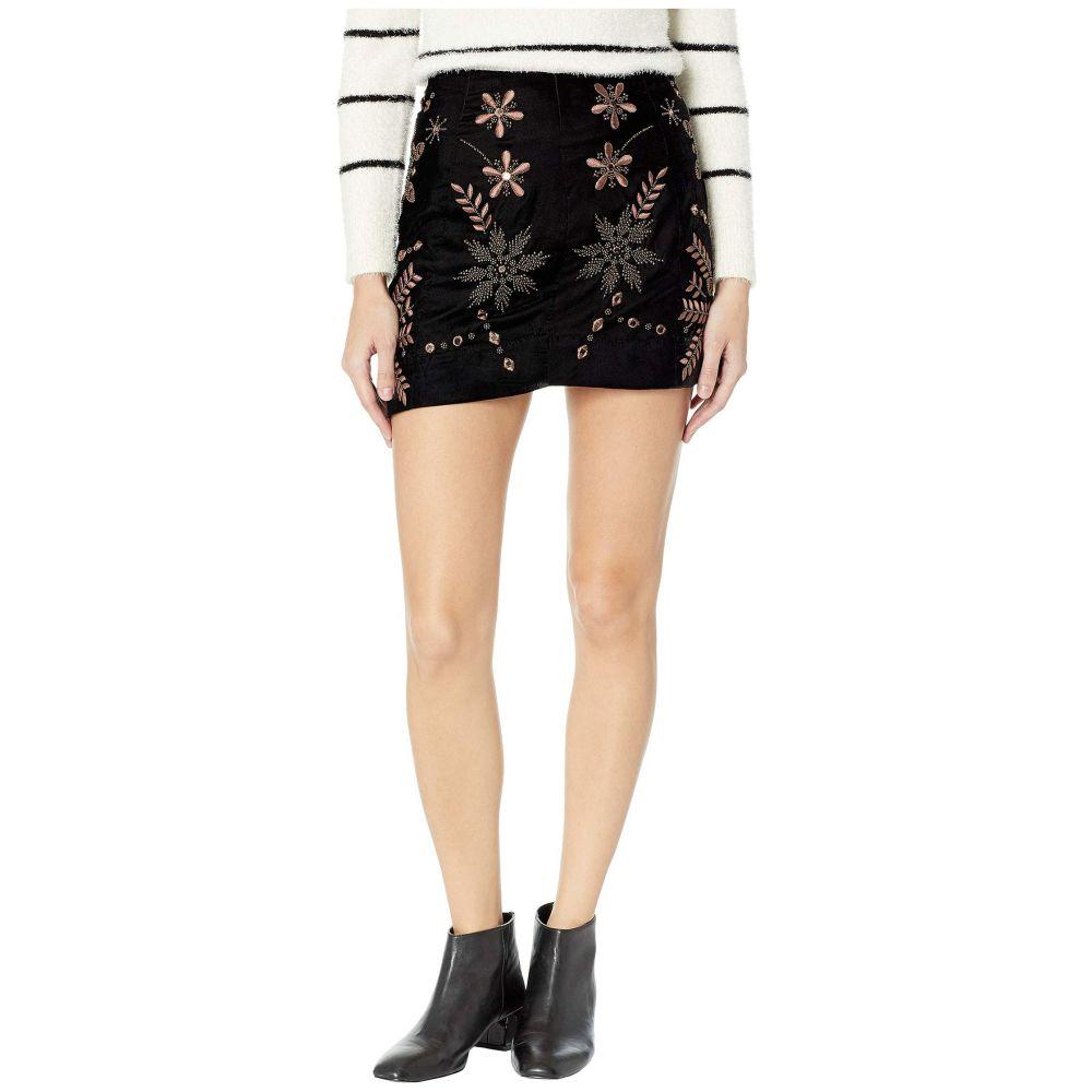 フリーピープル Free People レディース スカート ミニスカート【Bright Lights Mini Skirt】Black