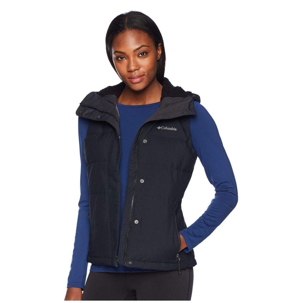 コロンビア Columbia レディース トップス ベスト・ジレ【Winter Challenger Hooded Vest】Black