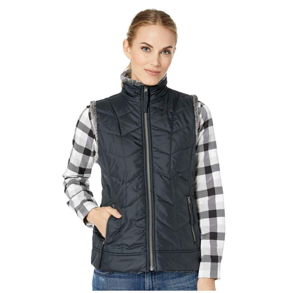 ロイヤルロビンズ Royal Robbins レディース トップス ベスト・ジレ【Cozy Inside Out Vest】Jet Black