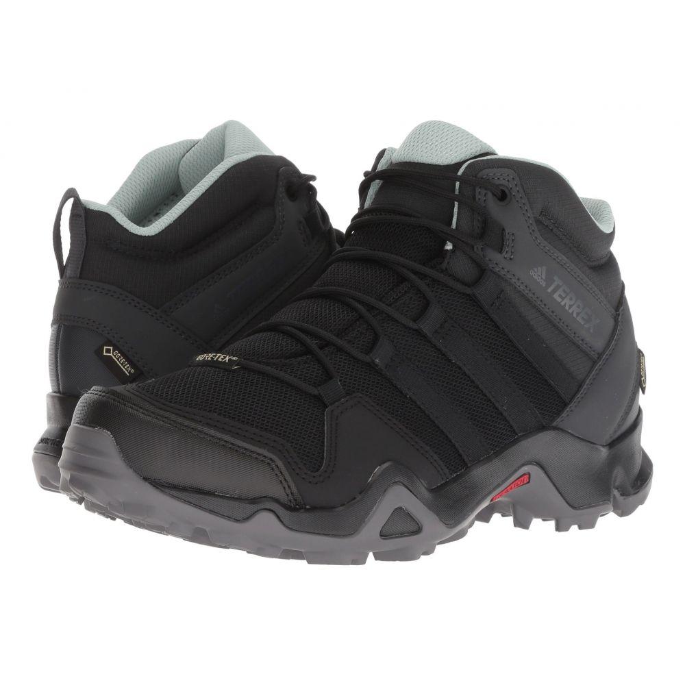 アディダス adidas Outdoor レディース ハイキング・登山 シューズ・靴【Terrex AX2R Mid GTX】Black/Black/Ash Green