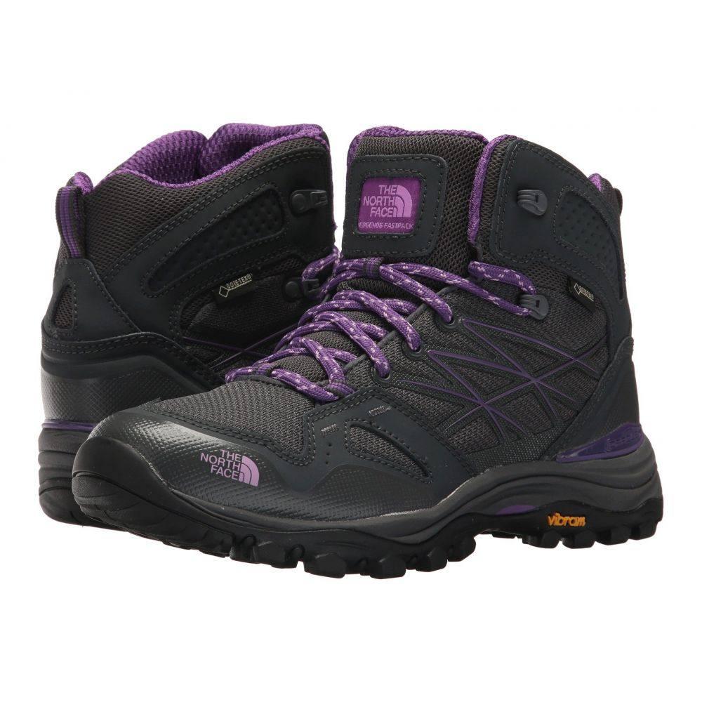 ザ ノースフェイス The North Face レディース ハイキング・登山 シューズ・靴【Hedgehog Fastpack Mid GTX】Dark Shadow Grey/Violet Tulle