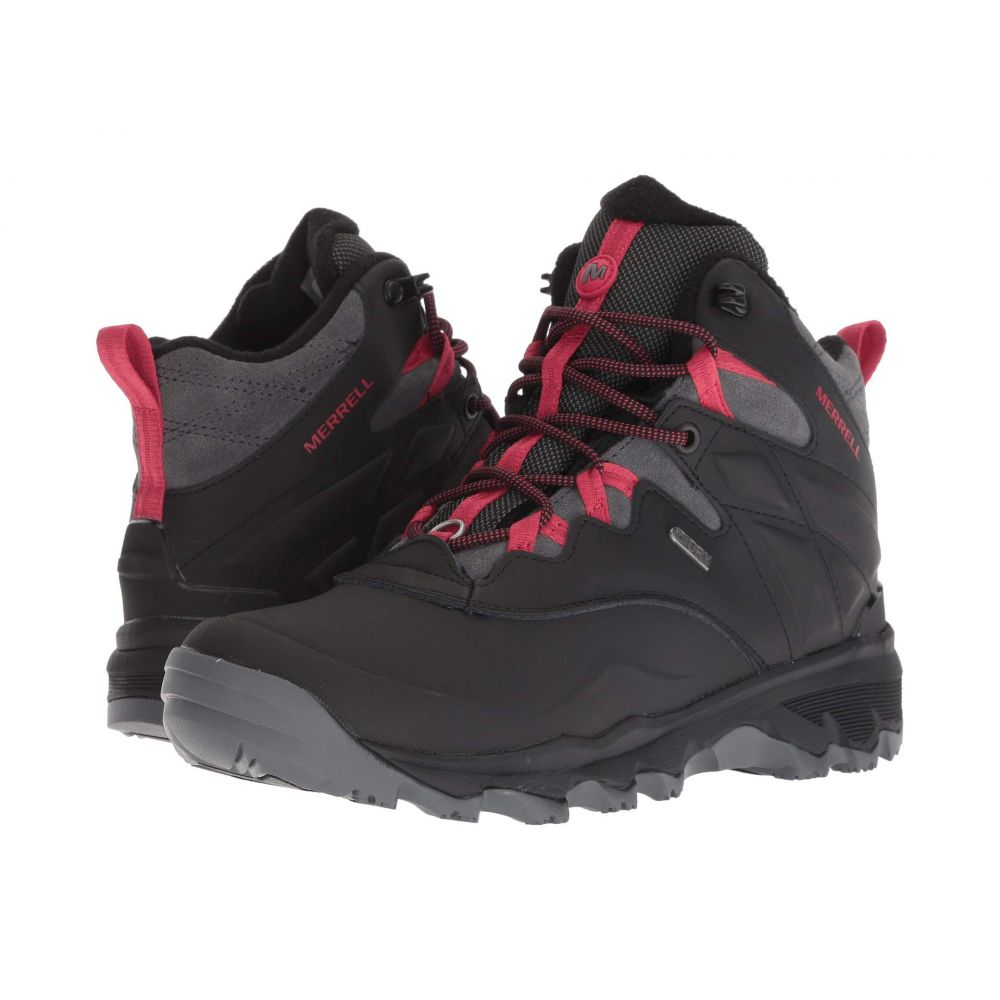 メレル Merrell レディース ハイキング・登山 シューズ・靴【Thermo Adventure Ice+ 6 Waterproof】Black