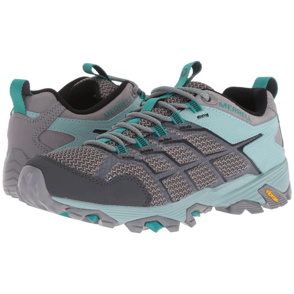 メレル Merrell レディース ハイキング・登山 シューズ・靴【Moab FST 2】Frost/Aquifer