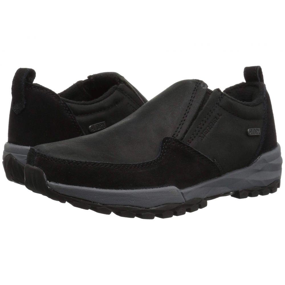 メレル Merrell レディース ハイキング・登山 シューズ・靴【Icepack Moc Polar Waterproof】Black