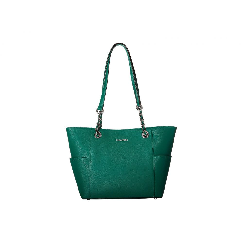 カルバンクライン Calvin Klein レディース バッグ トートバッグ【Key Item Saffiano Leather Tote】Leaf