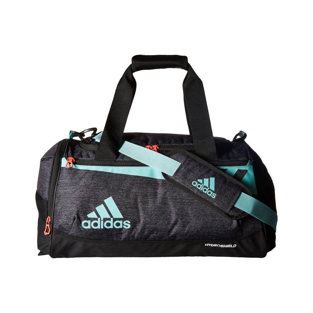 アディダス adidas レディース バッグ ボストンバッグ・ダッフルバッグ【Team Issue Small Duffel】Black Jersey/Energy Aqua/Lucid Red