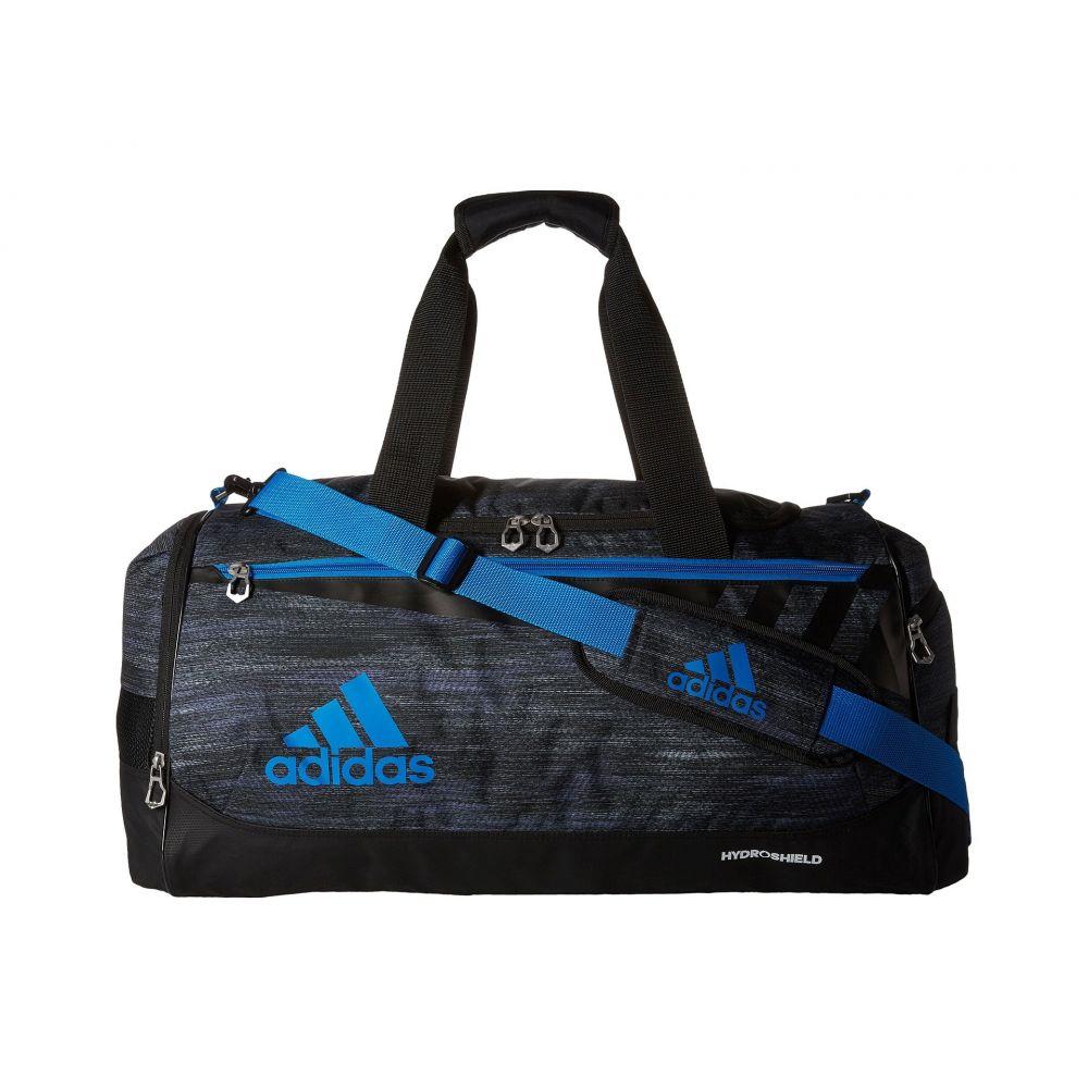 アディダス adidas レディース バッグ ボストンバッグ・ダッフルバッグ【Team Issue Medium Duffel】Macro Heather Black/Shock Blue