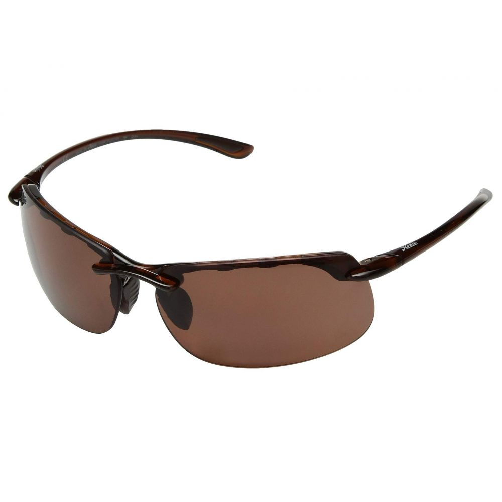 ホビー Hobie レディース スポーツサングラス【Pico】Polarized Shiny Brown Woodgrain/Copper Lens