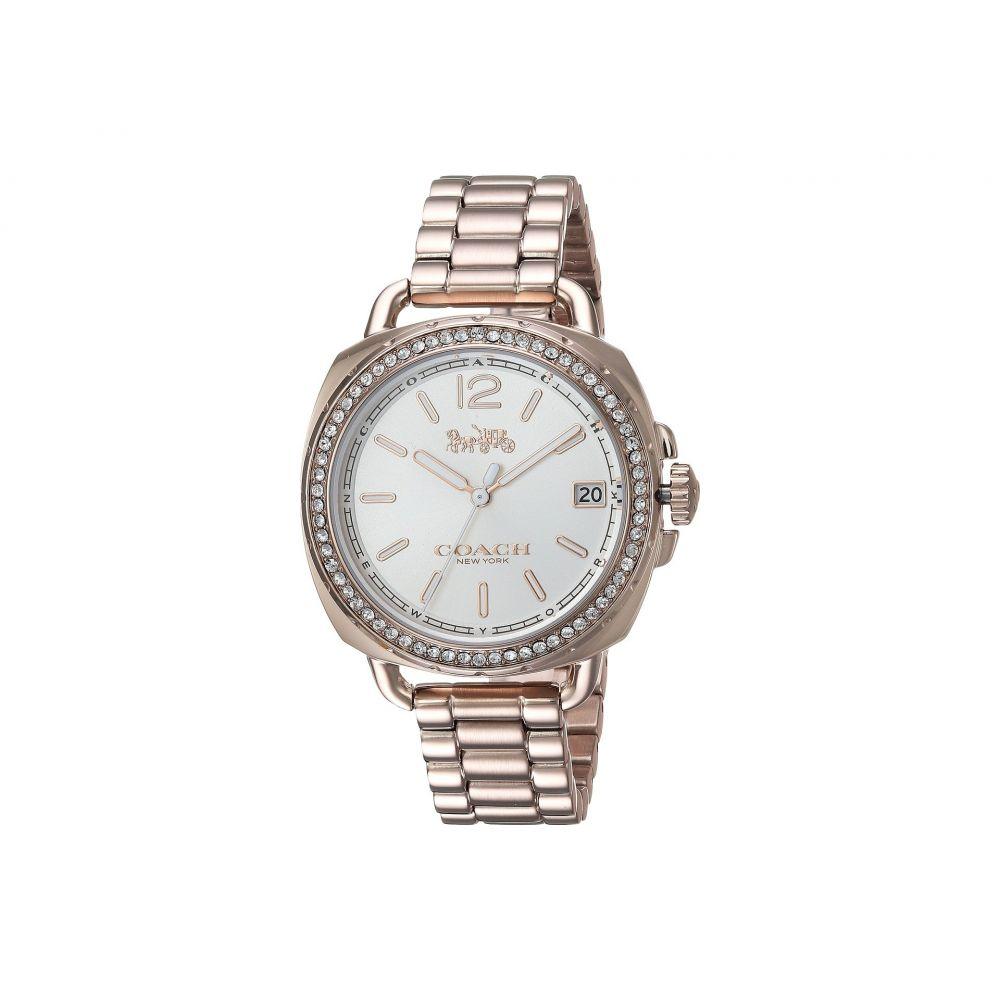 コーチ COACH レディース 腕時計【Tatum 34mm Bracelet with Swarovski Crystal】Carnation Gold