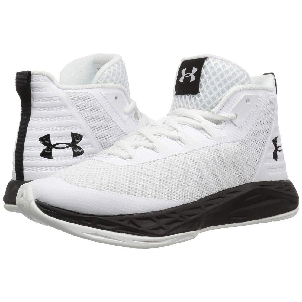 アンダーアーマー Under Armour レディース バスケットボール シューズ・靴【UA Jet Mid】White/Black/Black