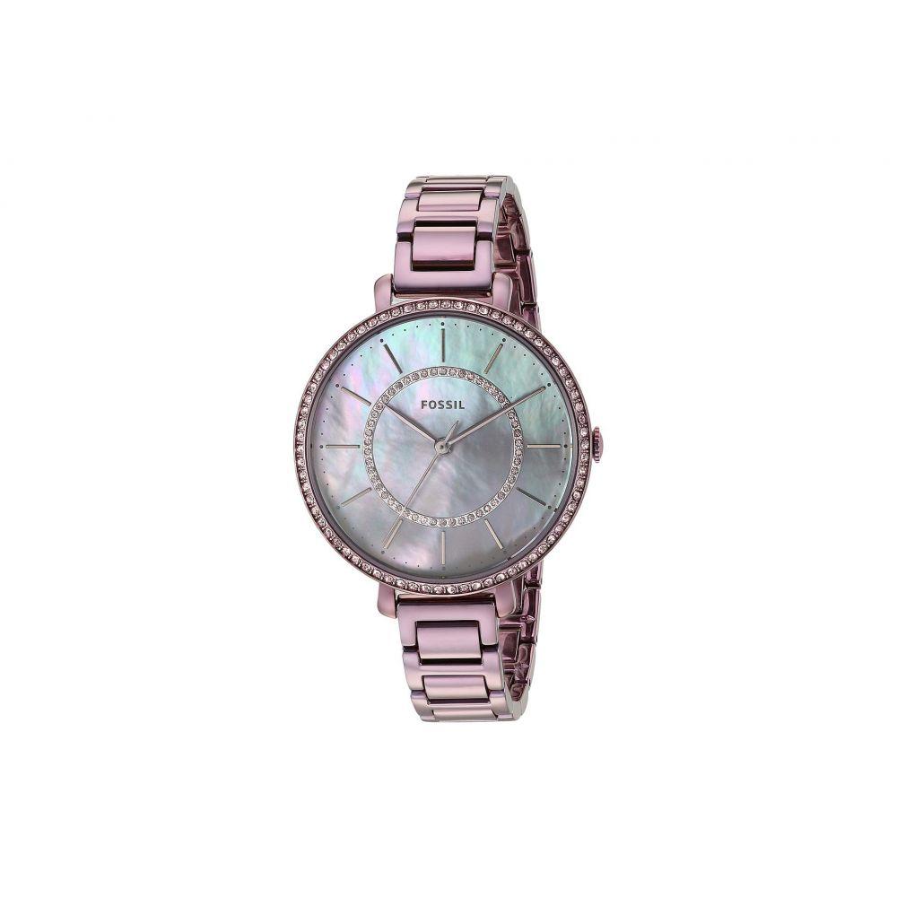 フォッシル Fossil レディース 腕時計【Jocelyn - ES4453】Purple