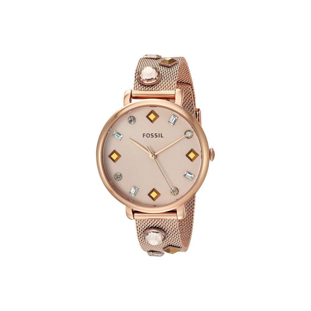 フォッシル Fossil レディース 腕時計【Jacqueline - ES4473】Rose Gold