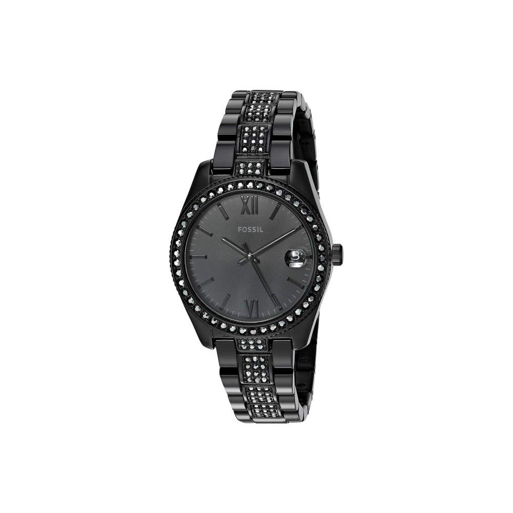 フォッシル Fossil レディース 腕時計【Scarlette - ES4508】Black