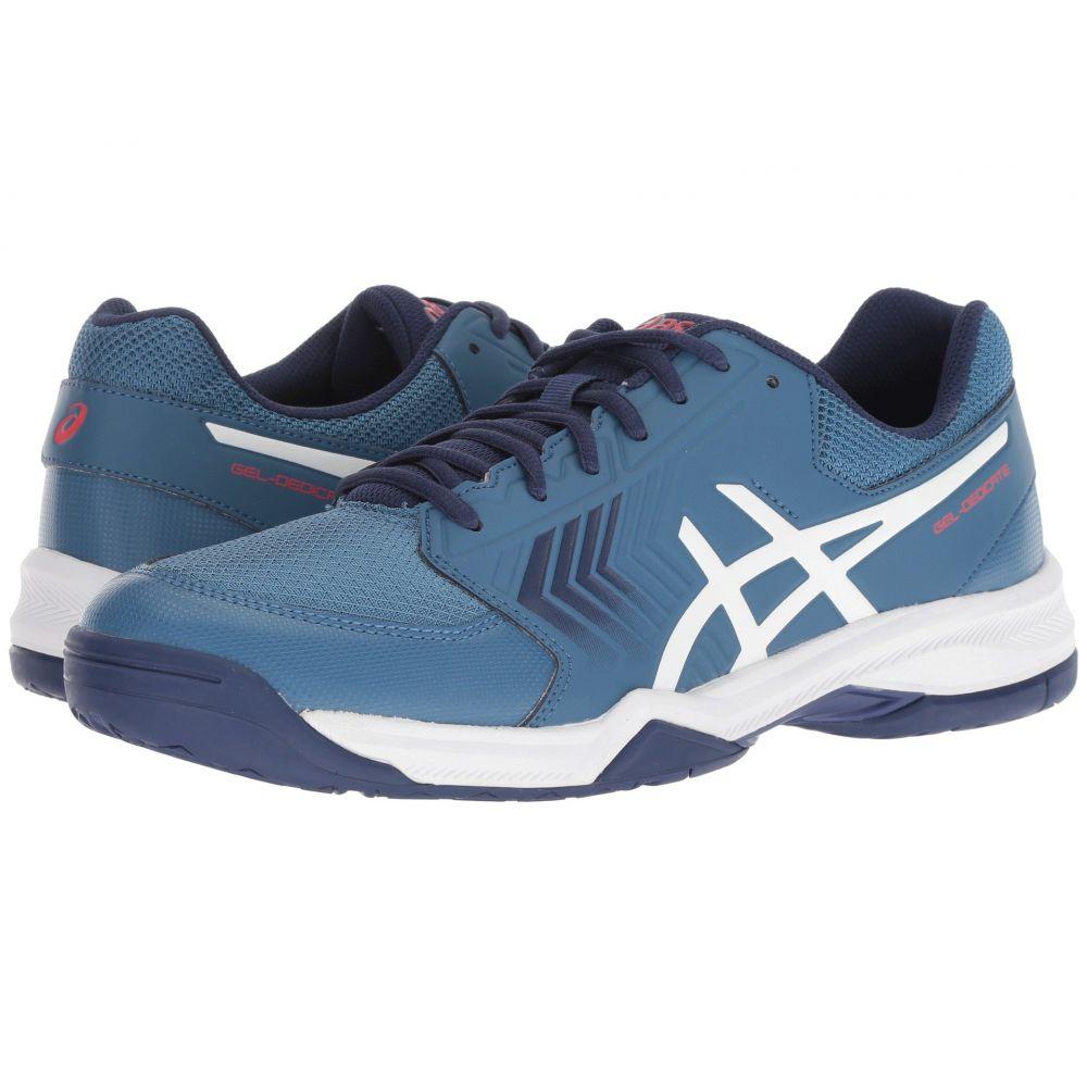 アシックス ASICS メンズ テニス シューズ・靴【Gel-Dedicate 5】Azure/White