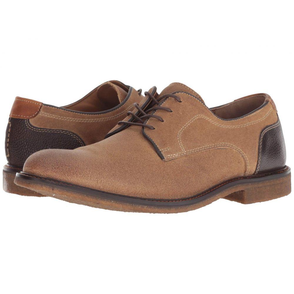 ジョンストン&マーフィー Johnston & Murphy メンズ シューズ・靴 革靴・ビジネスシューズ【Copeland Plain Toe】Taupe Water-Resistant Oiled Suede