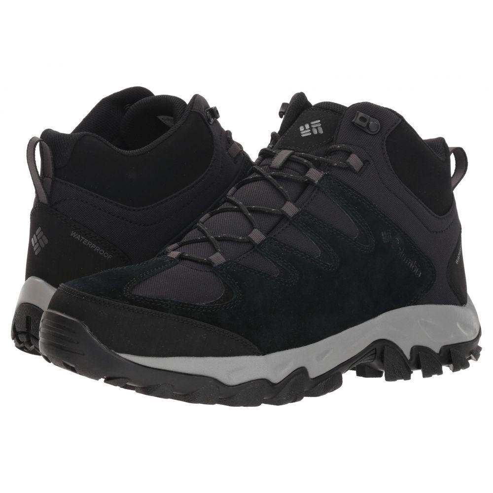 コロンビア Columbia メンズ ハイキング・登山 シューズ・靴【Buxton Peak Mid Waterproof】Black/Lux