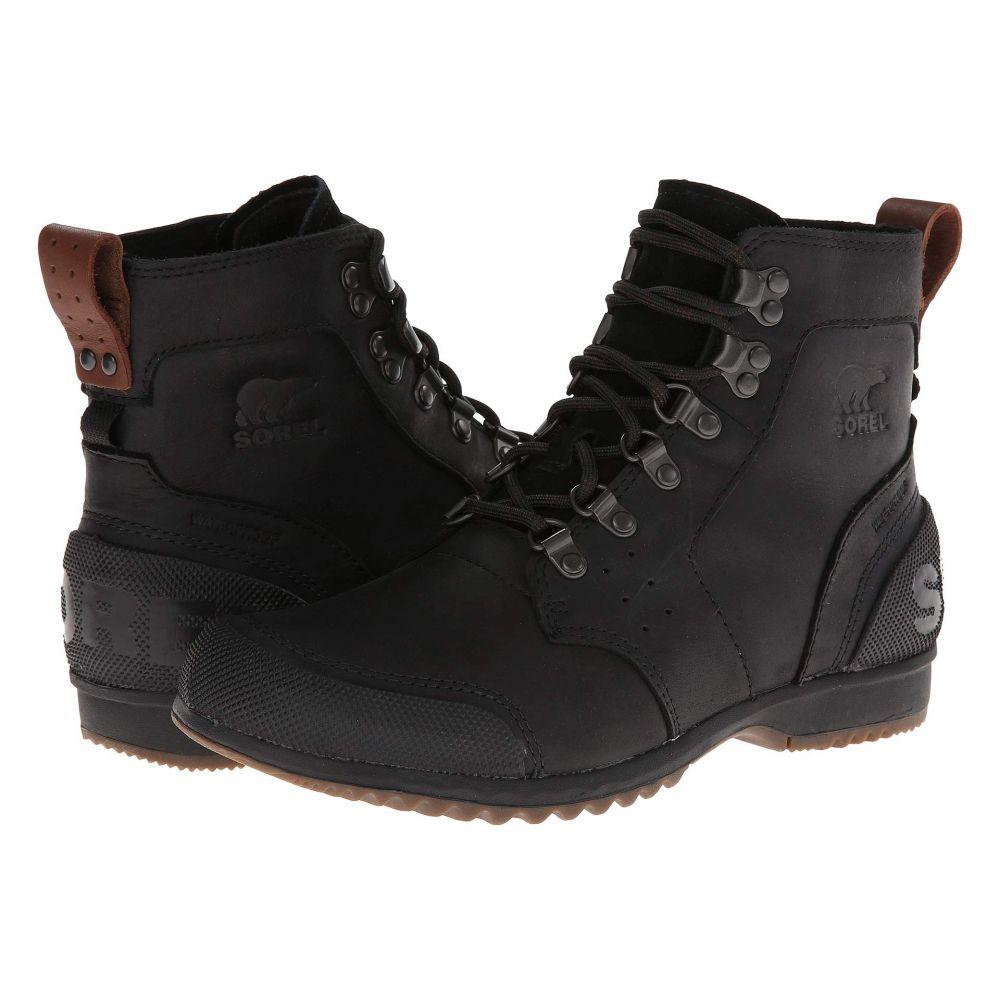 ソレル SOREL メンズ ハイキング・登山 シューズ・靴【Ankeny Mid Hiker】Black/Tobacco