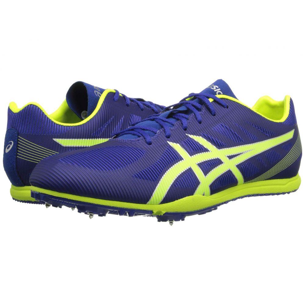 アシックス ASICS メンズ ランニング・ウォーキング シューズ・靴【Heat Chaser】Deep Blue/Flash Yellow