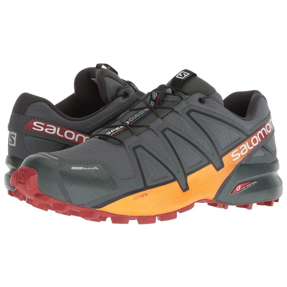 サロモン Salomon メンズ ランニング・ウォーキング シューズ・靴【Speedcross 4 CS】Urban Chic/Red Ochre/Tangelo