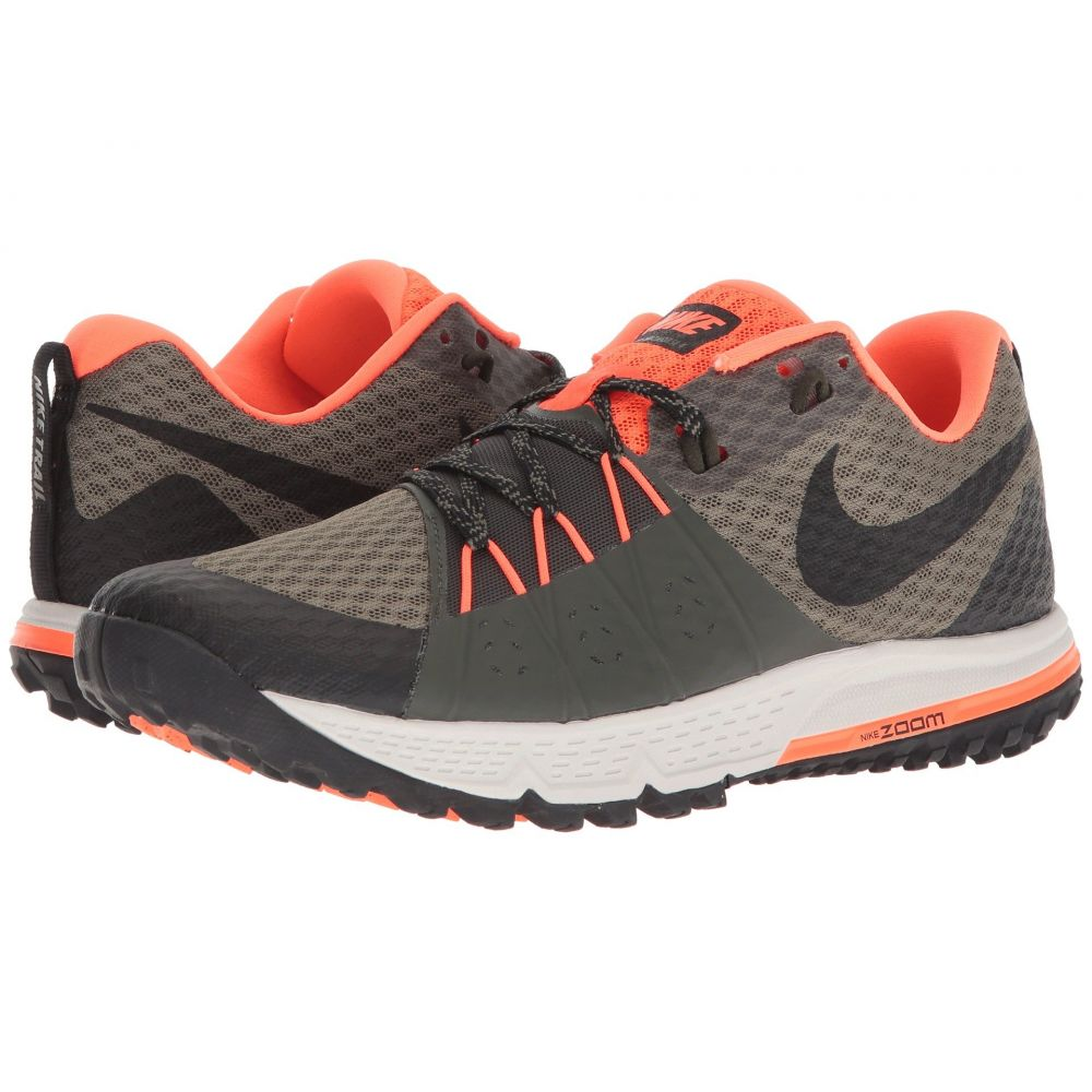 ナイキ Nike メンズ ランニング・ウォーキング シューズ・靴【Air Zoom Wildhorse 4】Medium Olive/Black/Total Crimson/Sequoia