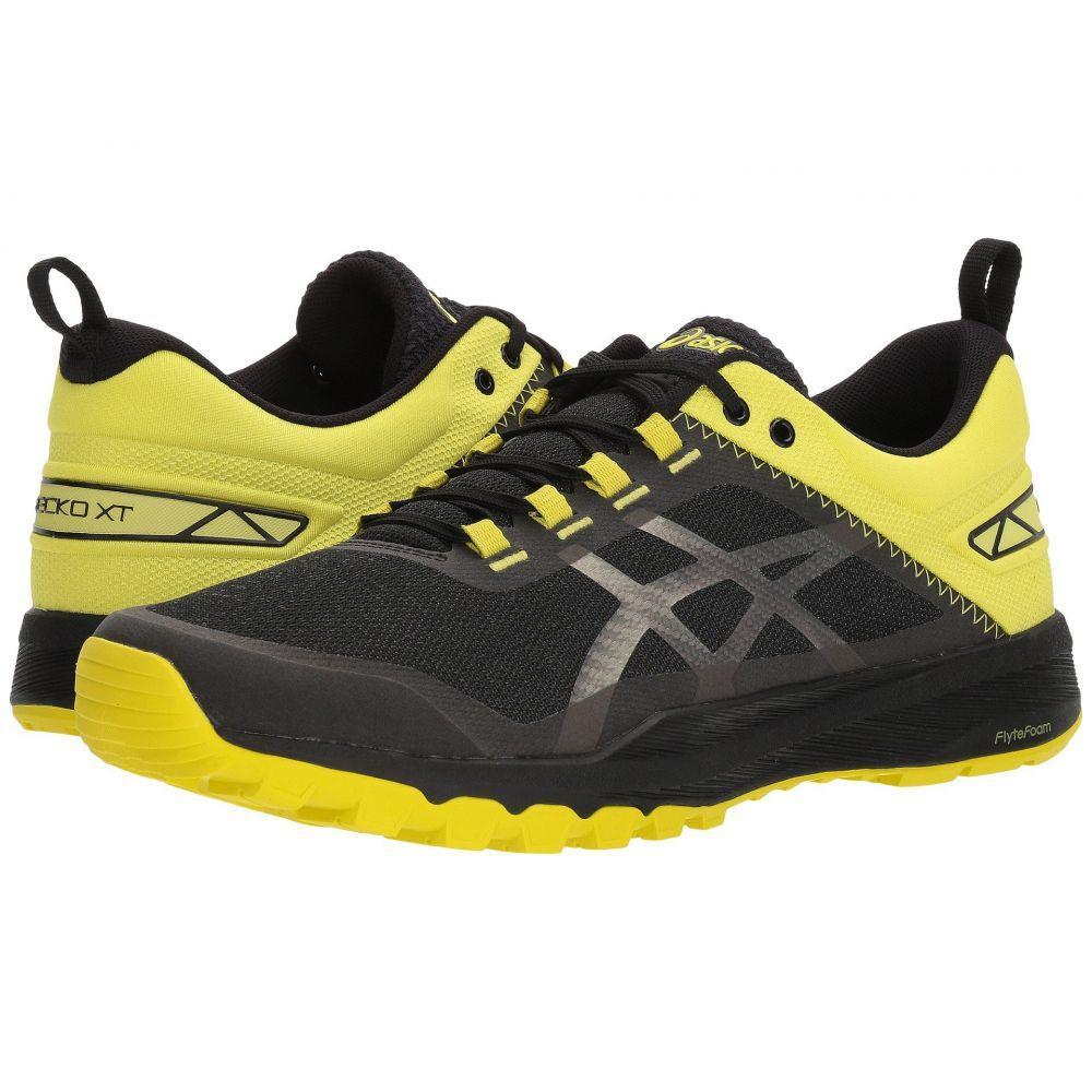 アシックス ASICS メンズ ランニング・ウォーキング シューズ・靴【Gecko XT】Black/Carbon/Sulphur Spring