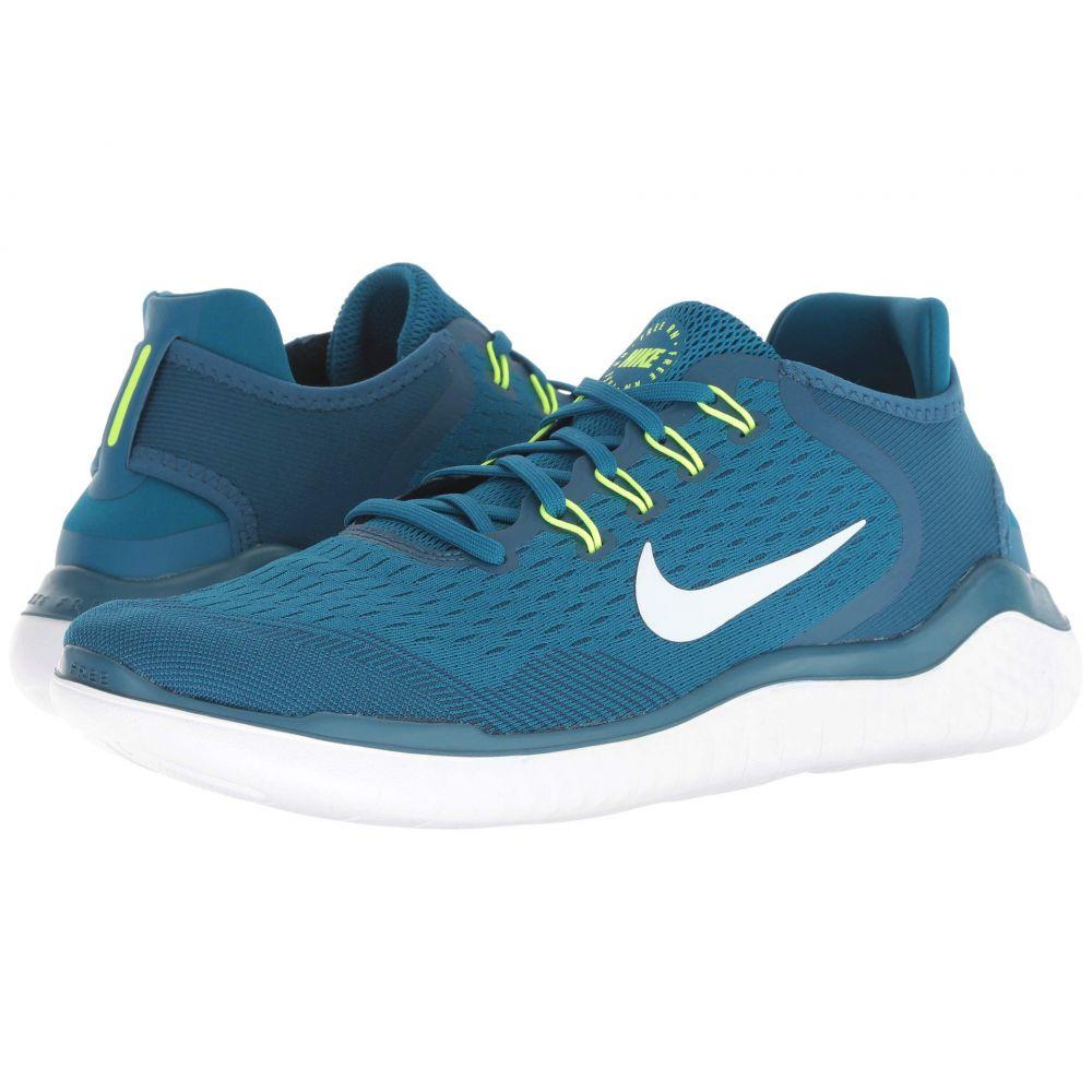 ナイキ Nike メンズ ランニング・ウォーキング シューズ・靴【Free RN 2018】Blue Force/White/Green Abyss