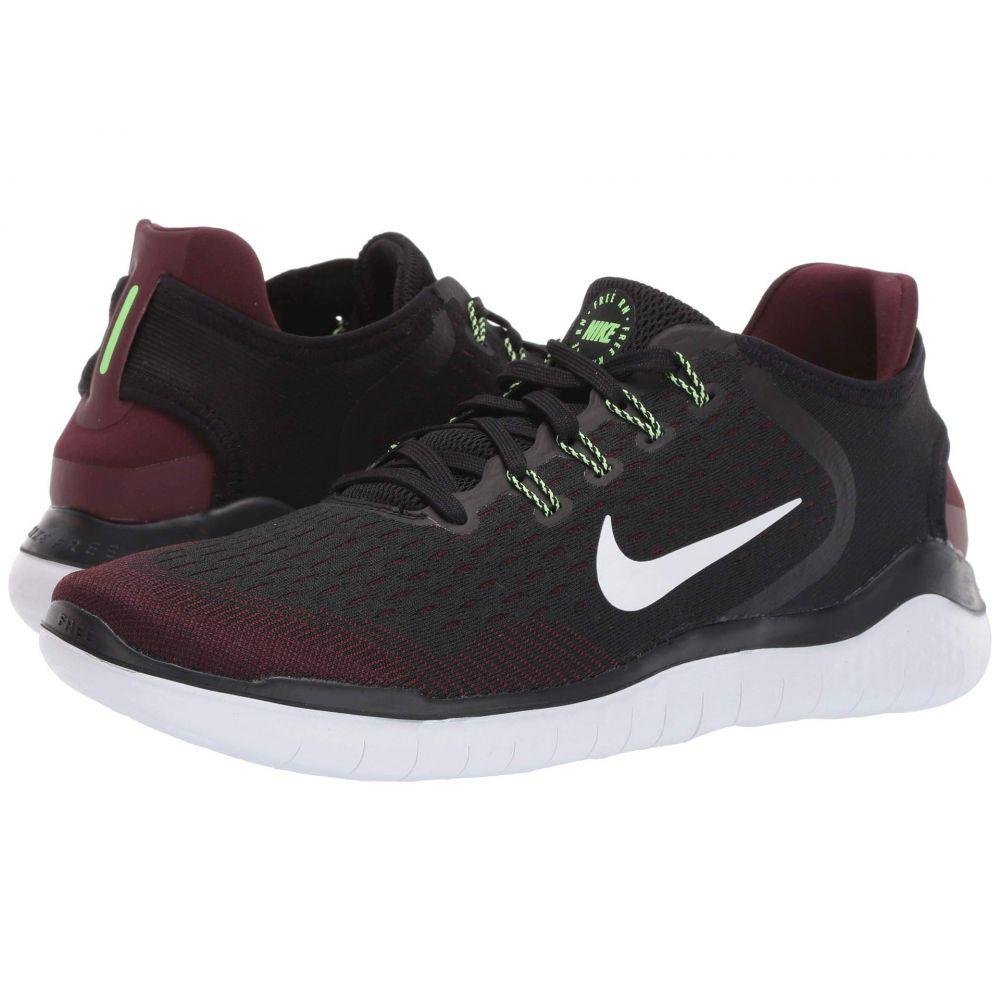ナイキ Nike メンズ ランニング・ウォーキング シューズ・靴【Free RN 2018】Night Maroon/Black/Lime Blast