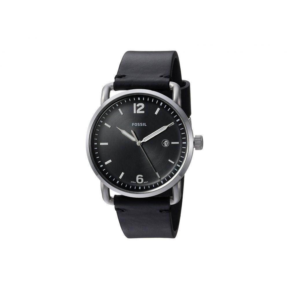 フォッシル Fossil メンズ 腕時計【The Commuter 3H Date - FS5406】Black