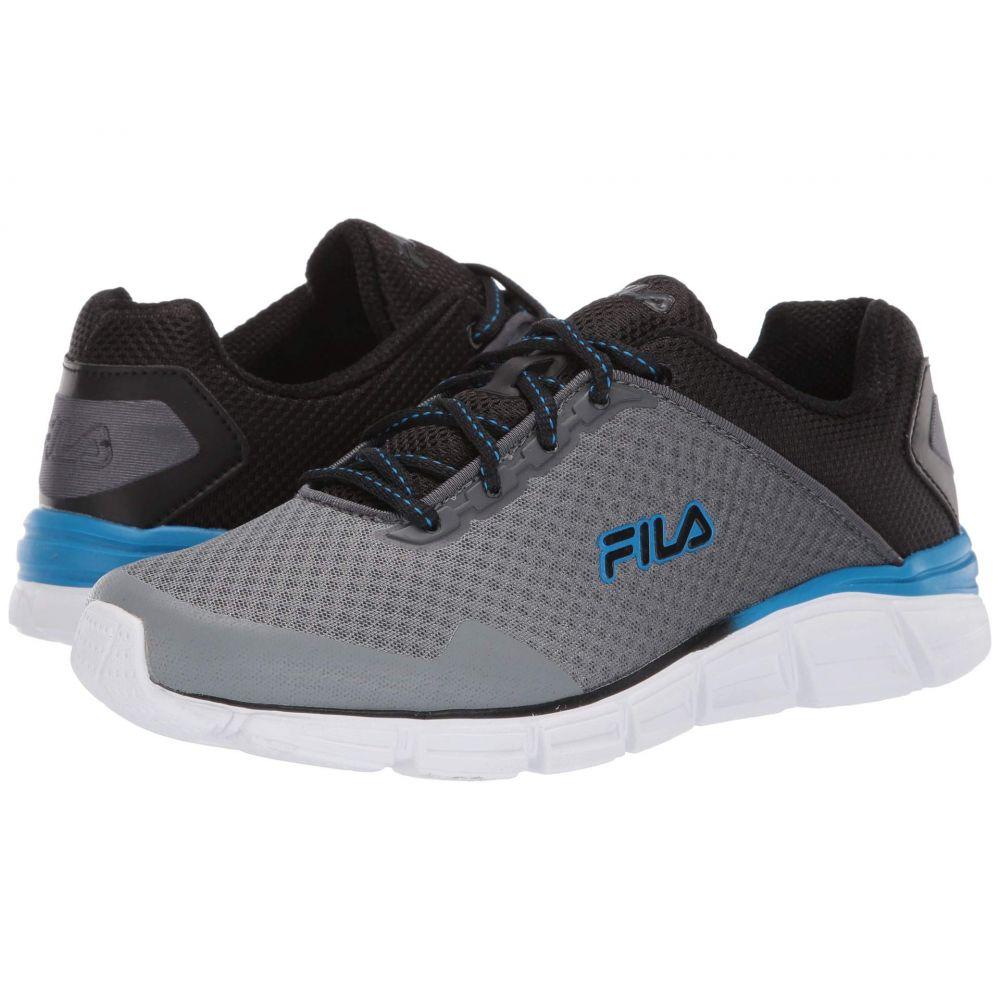 フィラ Fila メンズ ランニング・ウォーキング シューズ・靴【Memory Countdown 5 Running】Castlerock/Black/Electric Blue