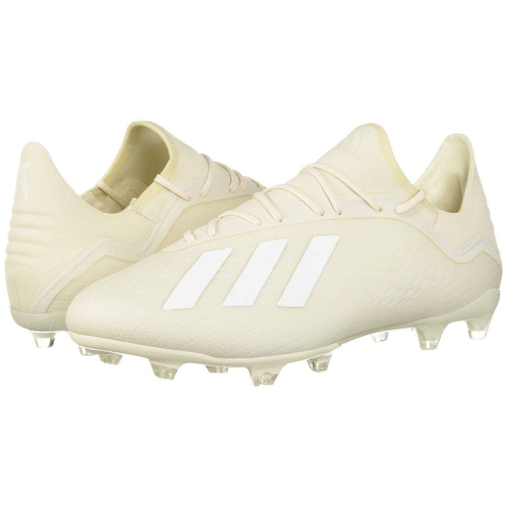 アディダス adidas メンズ サッカー シューズ・靴【X 18.2 FG World Cup Pack】Off-White/White/Black