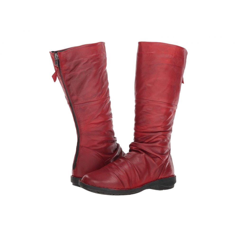 ミズムーズ Miz Mooz レディース シューズ・靴 ブーツ【Prima】Red