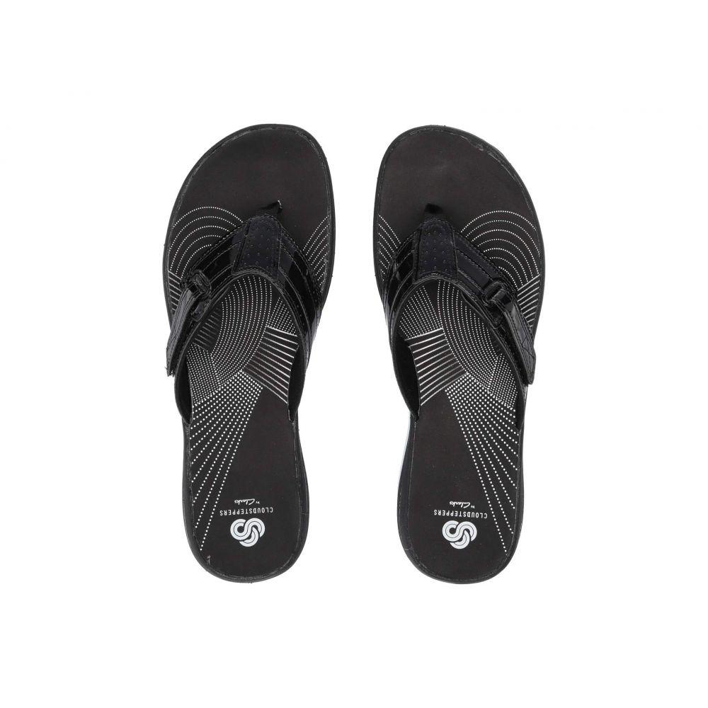 クラークス Clarks レディース シューズ・靴 ビーチサンダル【Brinkley Reef】Black Patent