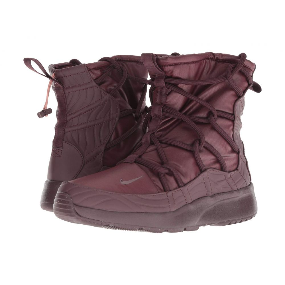 ナイキ Nike レディース シューズ・靴 ブーツ【Tanjun High-Rise】Burgundy Crush/Burgundy Crush
