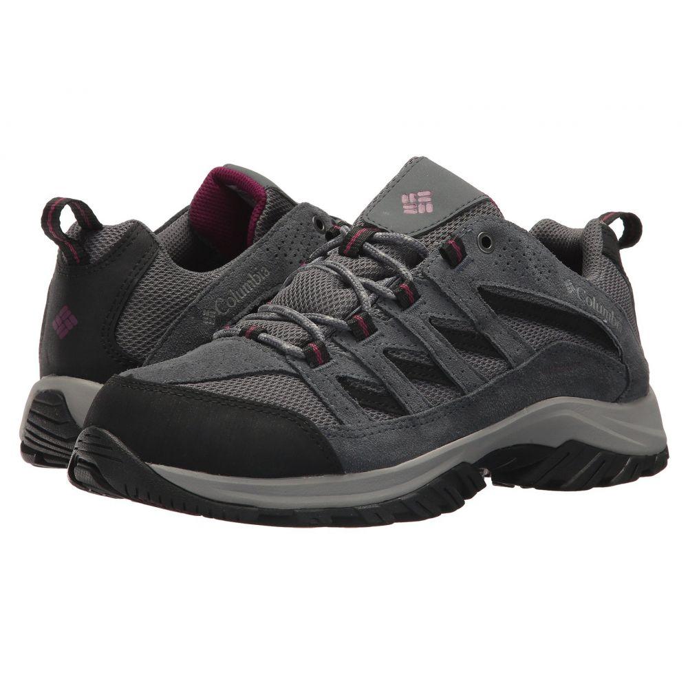 コロンビア Columbia レディース ハイキング・登山 シューズ・靴【Crestwood Waterproof】Ti Grey Steel/Dark Raspberry