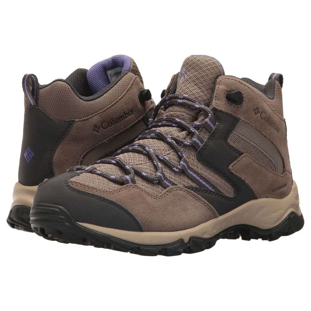 コロンビア Columbia レディース ハイキング・登山 シューズ・靴【Maiden Peak Mid Waterproof】Wet Sand/Purple Aster
