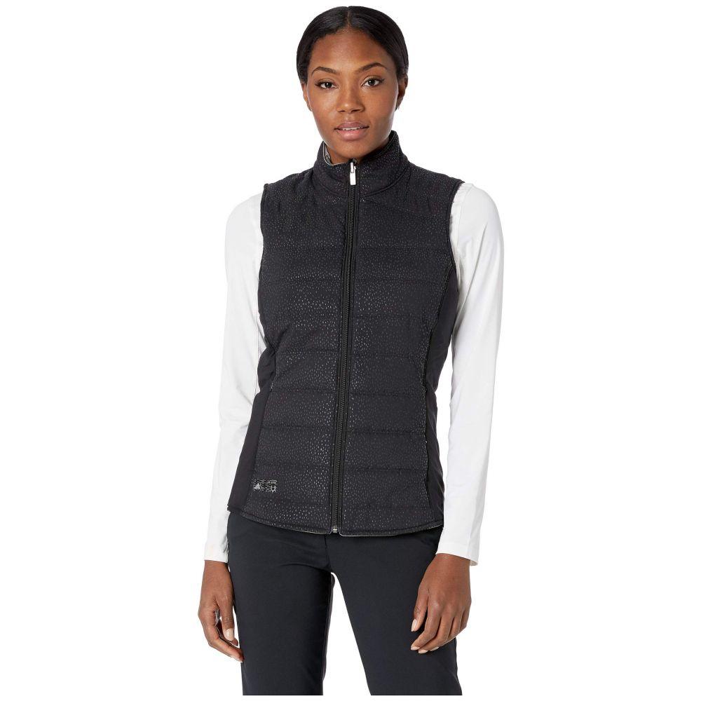 アディダス adidas Golf レディース トップス ベスト・ジレ【Reversible Quilted Vest】Black/Grey