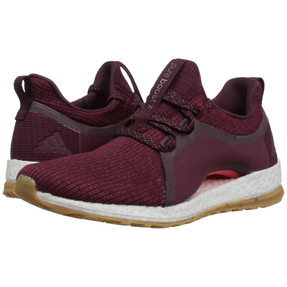アディダス adidas Running レディース ランニング・ウォーキング シューズ・靴【Pureboost X ATR】Red Night/Mystery Ruby/Easy Coral