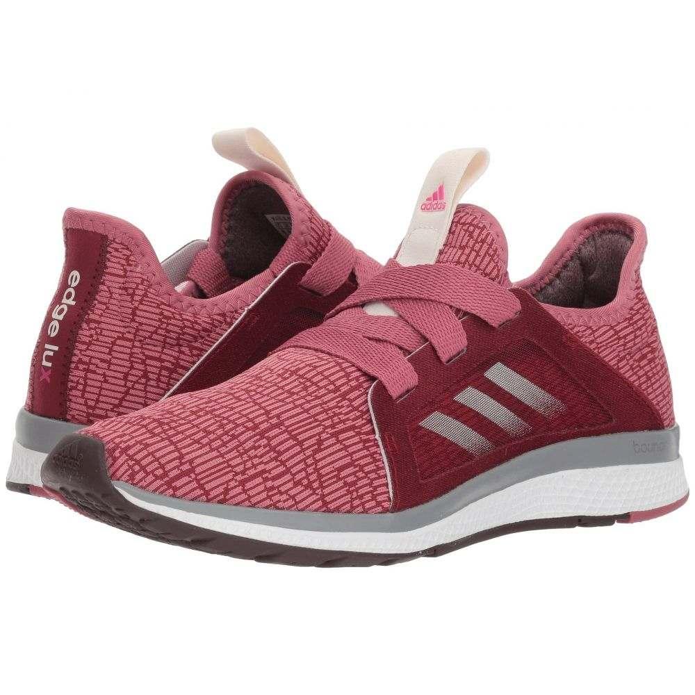 アディダス adidas Running レディース ランニング・ウォーキング シューズ・靴【Edge Lux】Noble Maroon/Night Red/Shock Pink