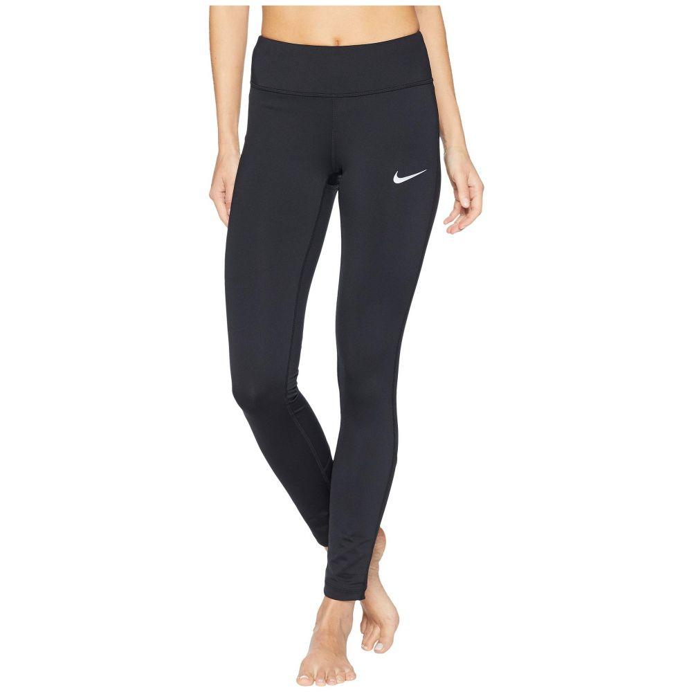 ナイキ Nike レディース ランニング・ウォーキング ボトムス・パンツ【Racer Running Tight】Black/Black