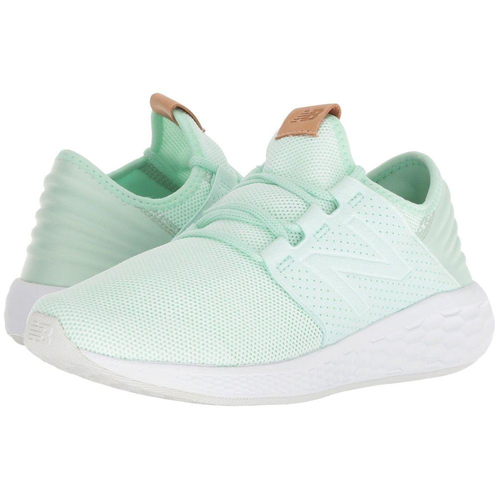 ニューバランス New Balance レディース ランニング・ウォーキング シューズ・靴【Fresh Foam Cruz v2 Knit】Ocean Air/White Munsell