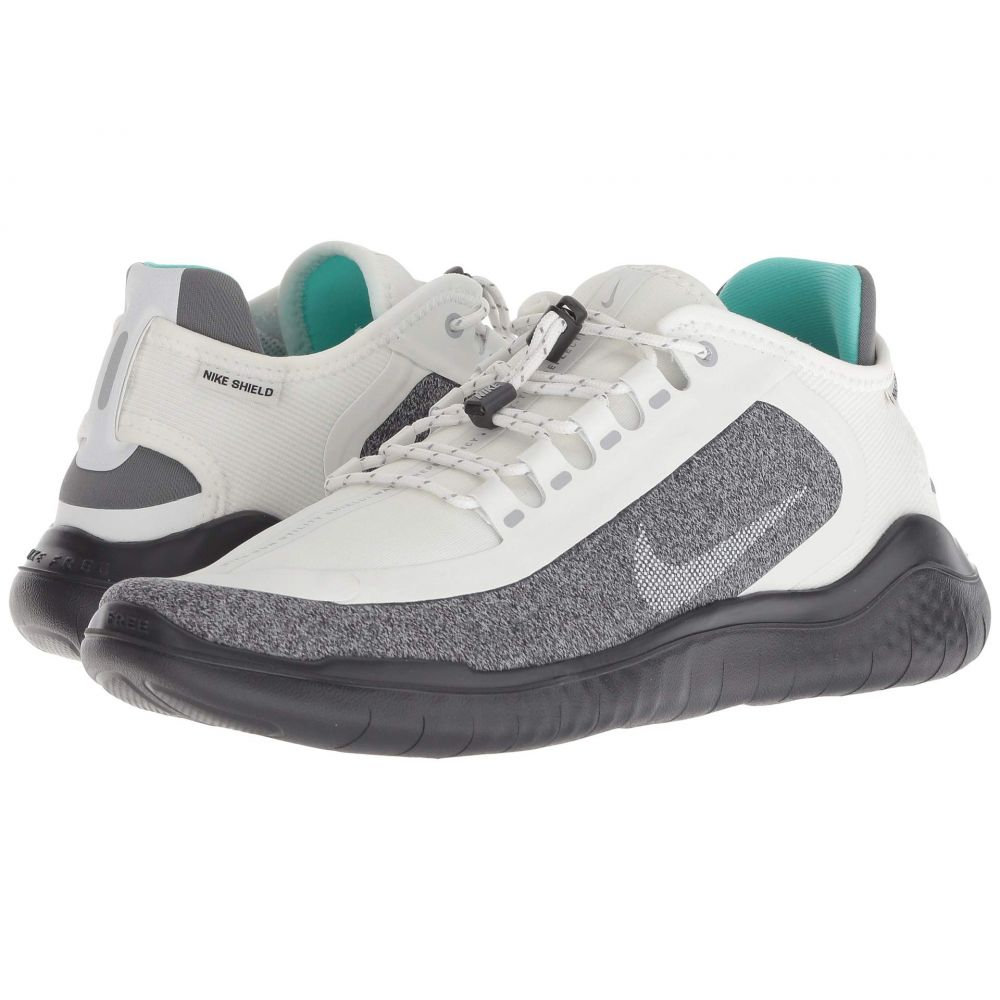 ナイキ Nike レディース ランニング・ウォーキング シューズ・靴【Free RN 2018 Shield】Summit White/Metallic Silver/Wolf Grey