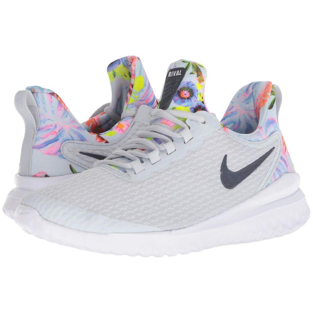 ナイキ Nike レディース ランニング・ウォーキング シューズ・靴【Renew Rival Premium】Pure Platinum/Black/Multicolor/White