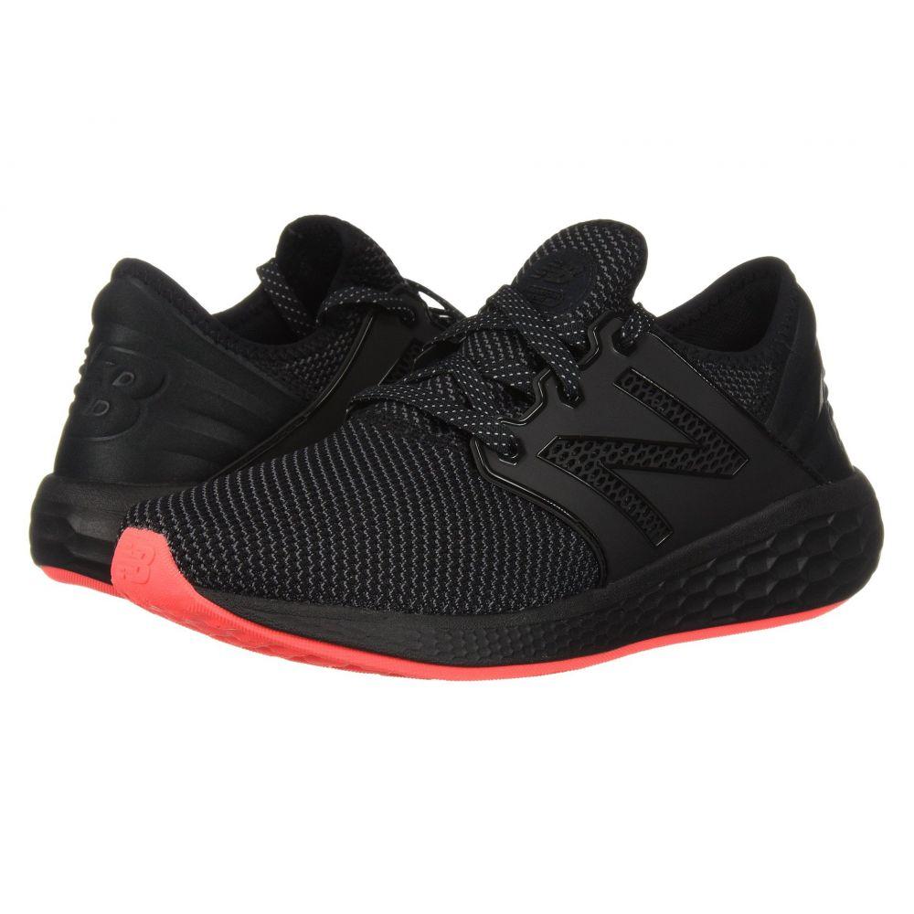 ニューバランス New Balance レディース ランニング・ウォーキング シューズ・靴【Fresh Foam Cruz V2 Sport】Black/Black
