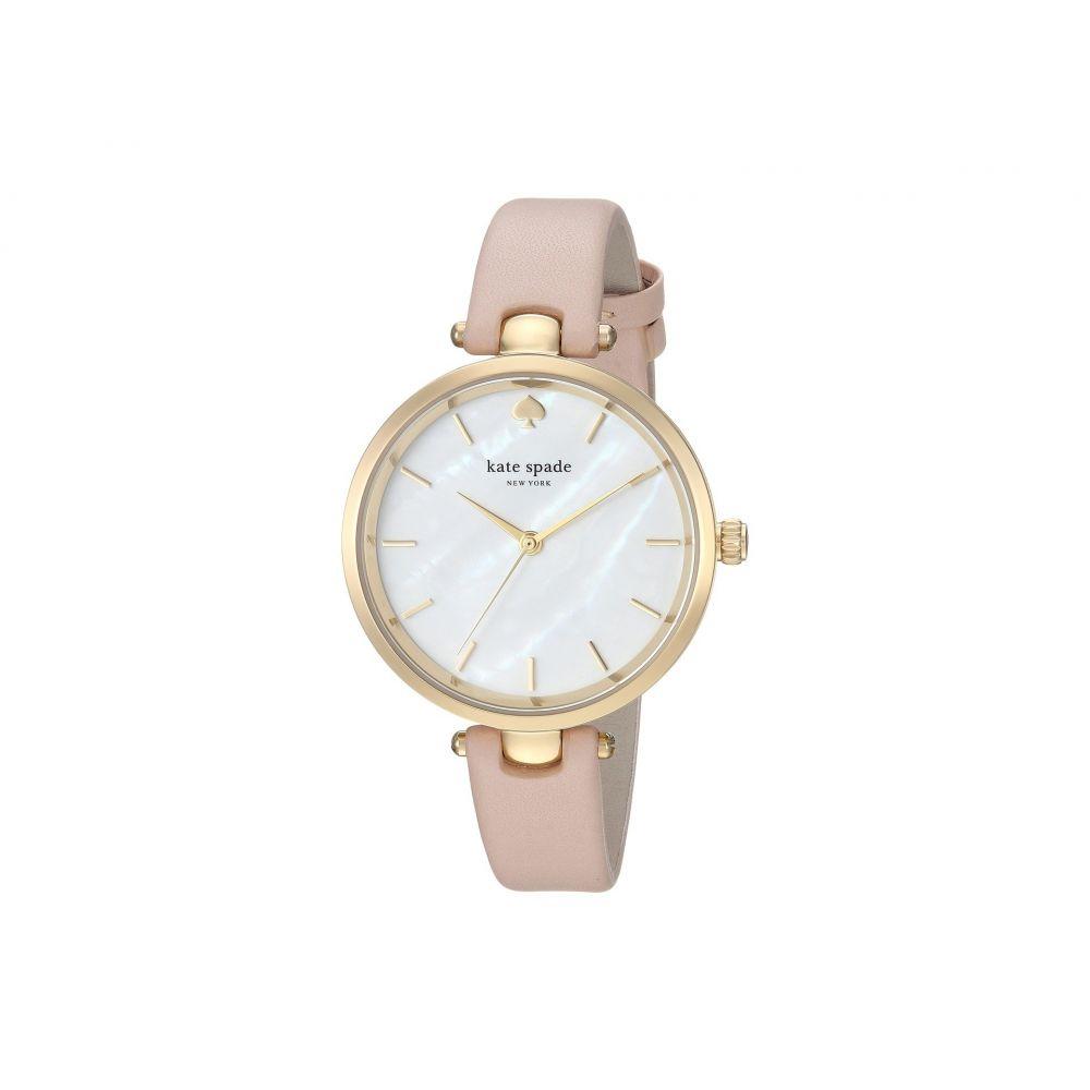 ケイト スペード Kate Spade New York レディース 腕時計【36mm Holland Watch - KSW1281】Gold/Beige