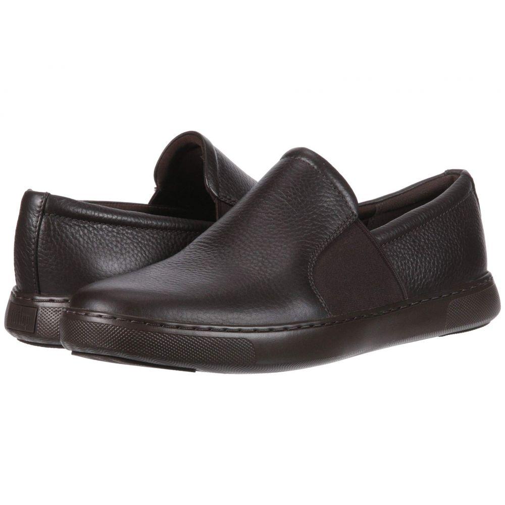 フィットフロップ FitFlop メンズ シューズ・靴 スリッポン・フラット【Collins Slip-On】Chocolate