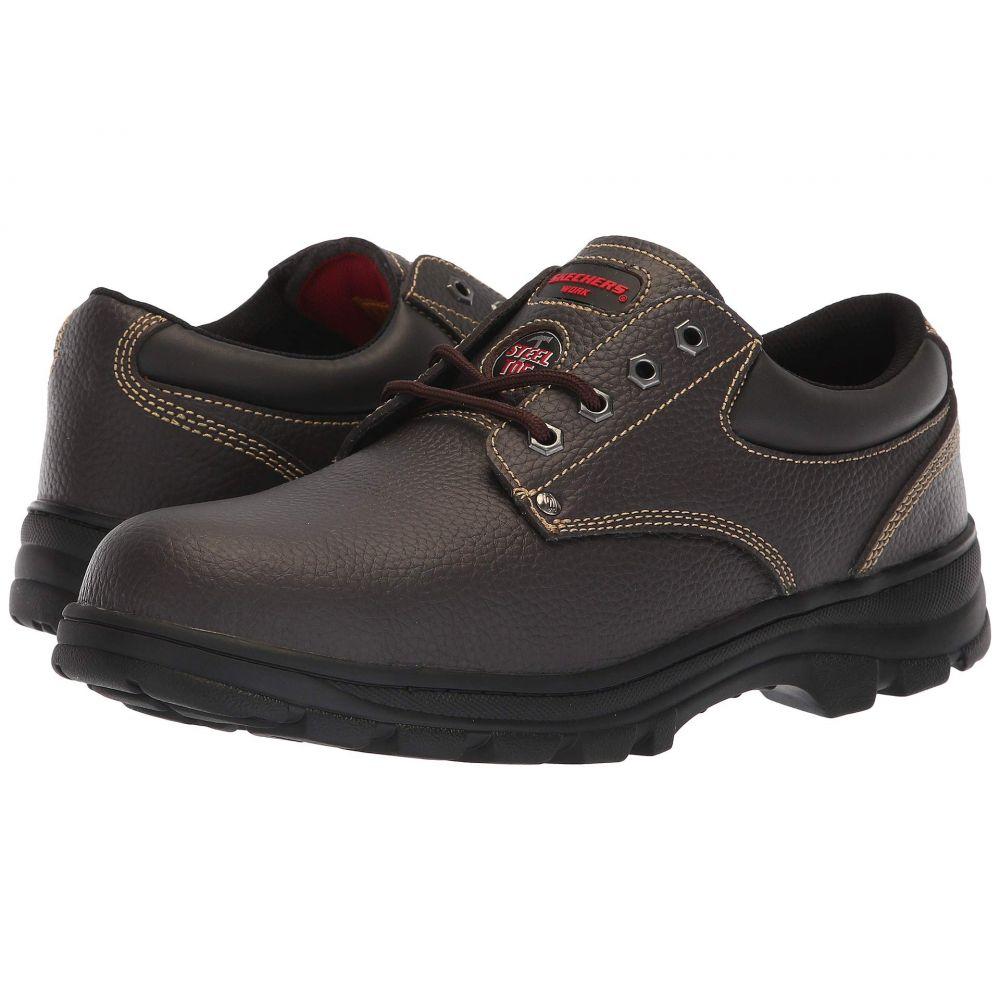 スケッチャーズ SKECHERS Work メンズ シューズ・靴【Workshire - Tydfil】Brown